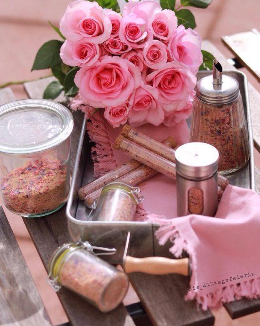 {REZEPT} * Homemade Blütenträumchen * pink up your Coffee *
