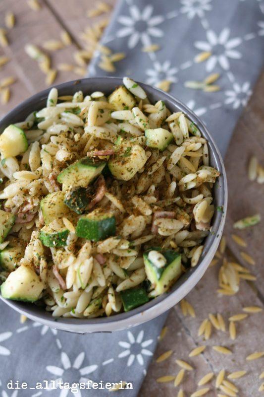 {REZEPT/KOCHQUICKY} No. 3: * Reisfrischkäsepfanne mit Gemüse und Schinken *