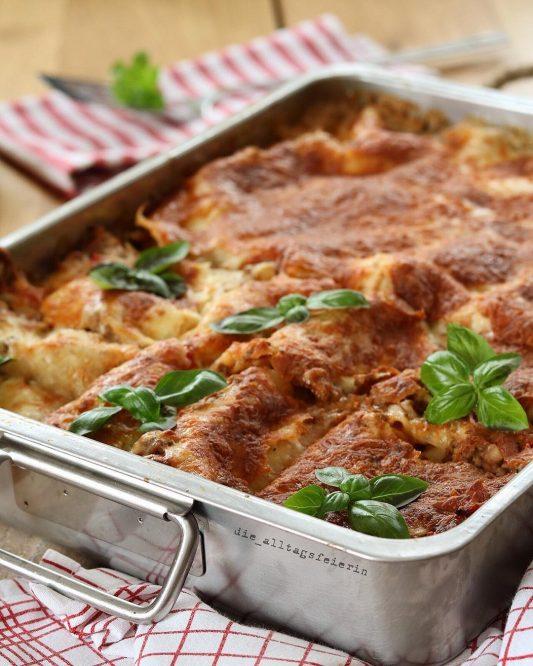 Wochenplan, Speiseplan, Freebie, Lasagne, Was koche ich heute?, Familienküche, Rezepte