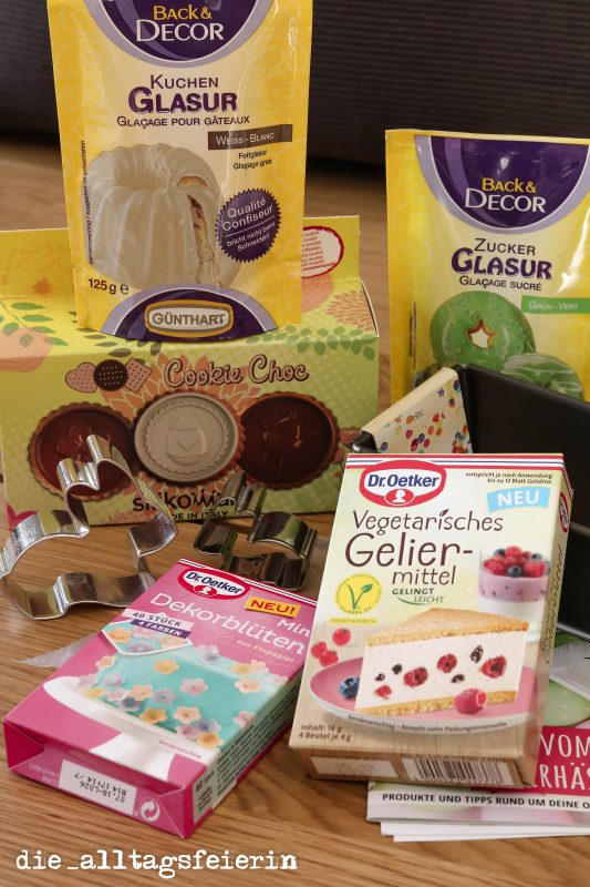 UNBOXING * MEINE BACKBOX * mit Cakepops- Goodie