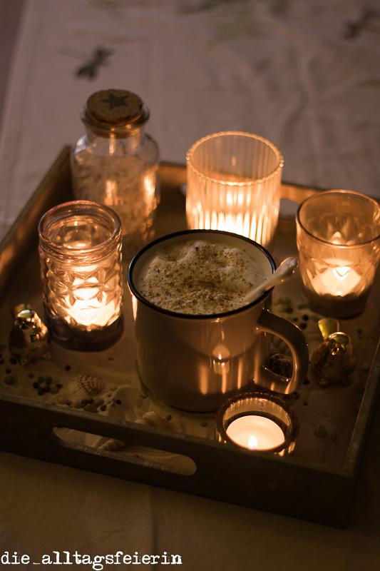 Wochenglückrückblick, hyggelig, gemütlich, Dekoration, Kerzen, Kaffee, Kaffeeliebe