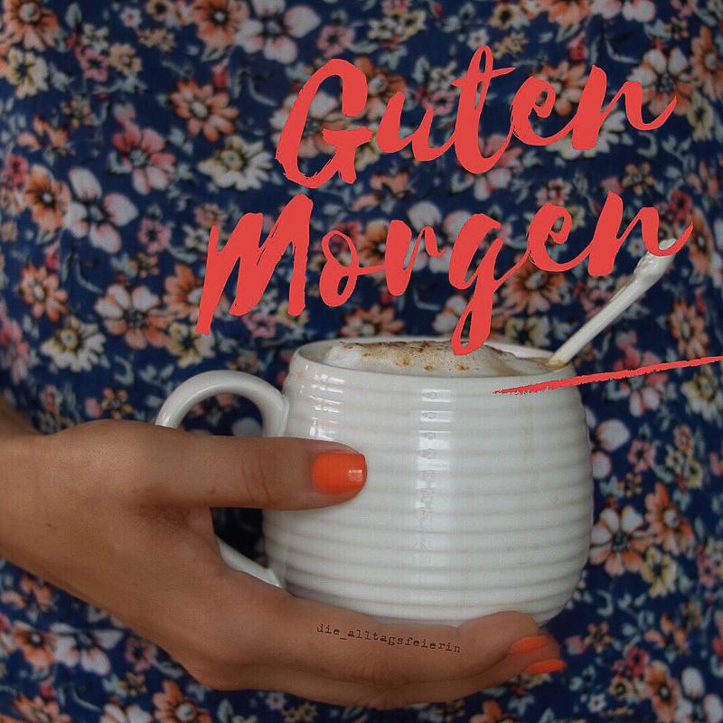 Kaffee, Wochenglückrückblick, Nagellack, guten Morgen, Kaffeeliebe