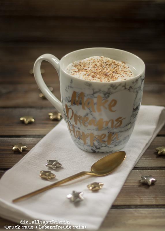 Kaffee, time4coffe, Milchkaffee, Cappuccino, Morgenroutine, Wochenglückrückblick