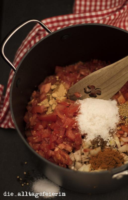 blogevent rezept kulinarisch auf vorrat tomaten paprika salsa die alltagsfeierin. Black Bedroom Furniture Sets. Home Design Ideas