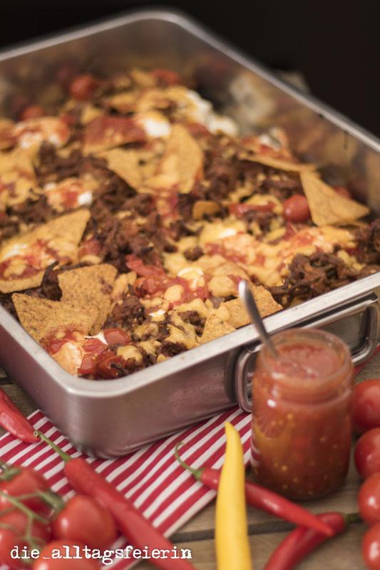 Kulinarisch auf Vorrat, Bloggerevent, Tomaten-Paprika-Salsa, einkochen, einmachen, Tex-Mex