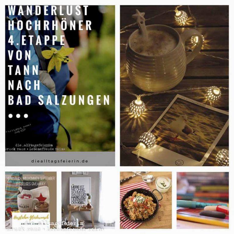 Wochenglueckrueckblick, Hochrhoener, Kaffee, Collage, Kochen, Wohnzimmer, Schule