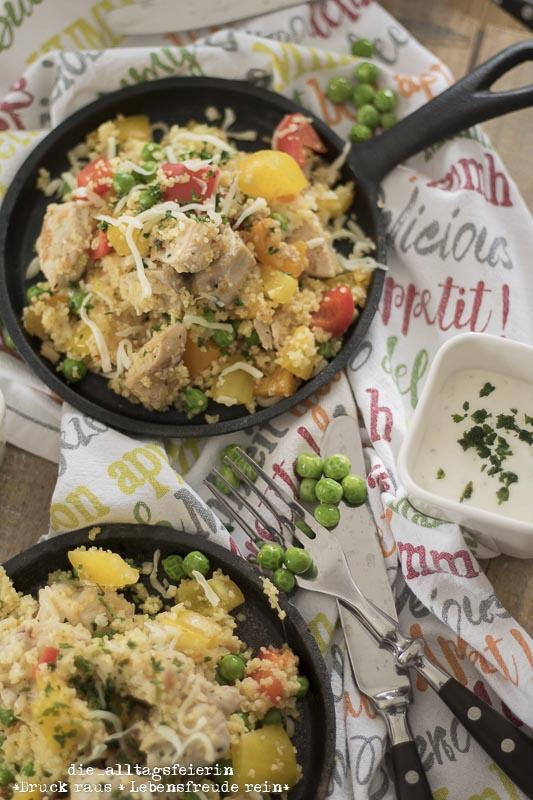 Speiseplan KW 47-18, schnelles Mittagessen, Familienküche, Couscous, Couscouspfanne, leckere Couscouspfanne, schnelles Essen, gesundes Kochen, frisch gekocht, Couscousliebe
