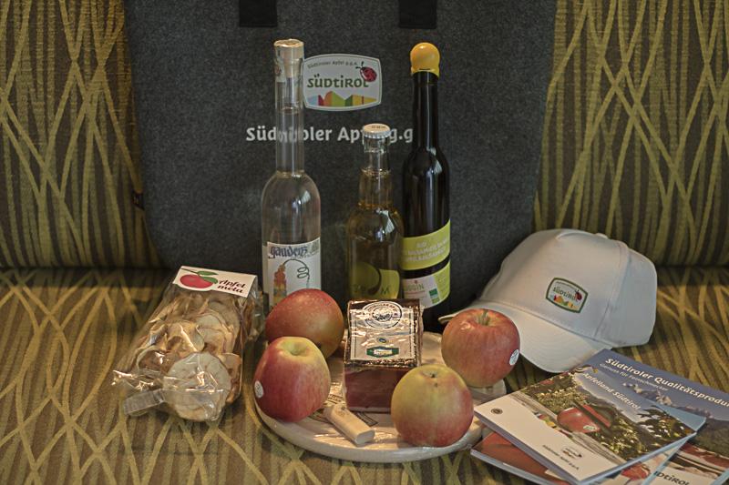 Suedtirol, Suedtiroler Apfel, Goodiebag
