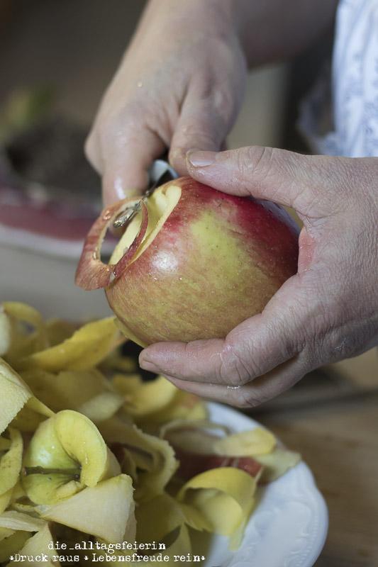 Suedtirol, Suedtiroler Apfel, Speckknoedel, Apfelstrudel, Zmailer Hof Schenna, Schenna