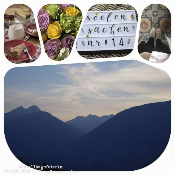 Wochenglueckrueckblick 221017, Seelensachen, Kaese-Apfel-Streusel-Kuchen, Kaesekuchen, Streuselkuchen, Apfelkuchen, blaue Stunde, Naturfotografie, Landschaftsfotografie, Suedtirol