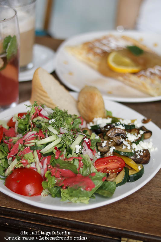 Wochenglueckrueckblick 081017, Herzensfreundinnenzeit, Salat, Zeit für mich, Herzensangelegenheit