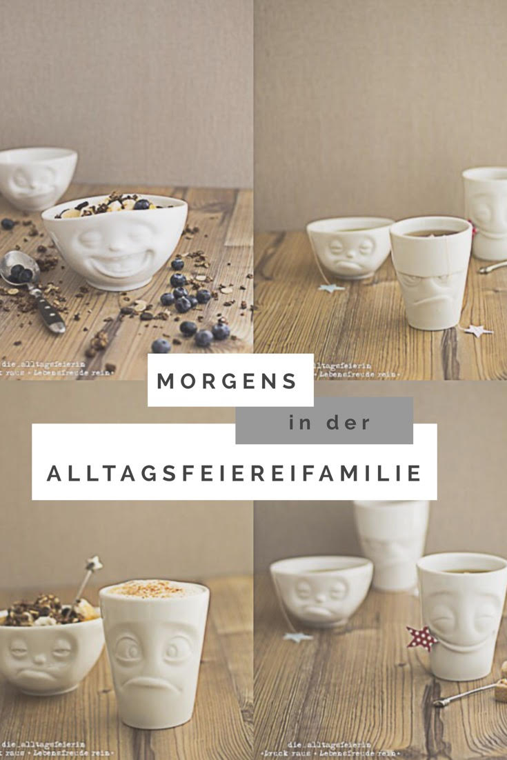 FiftiyEight-Products, Tassen, Porzellan, made in Germany, die Alltagsfeierei, Tassenliebe, Becher, Charaktere, Tassen mit Charakter, Familiengeschichtern