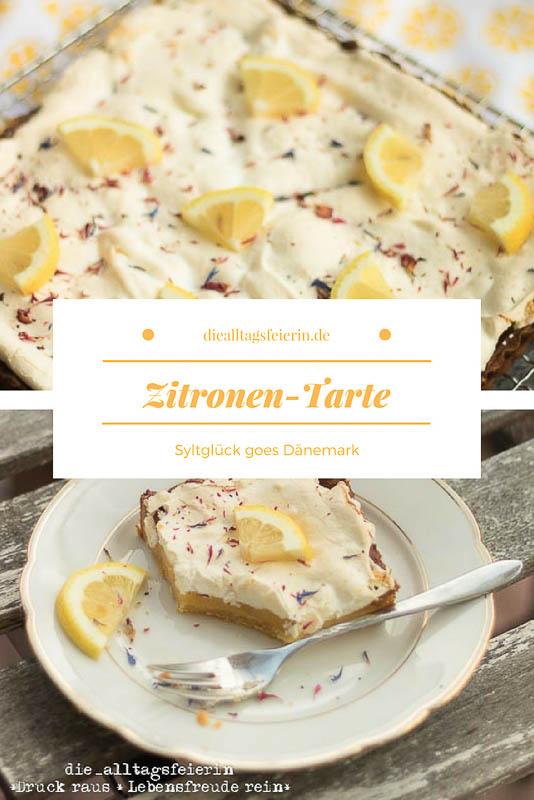 Zitronen-Tarte, Zitronen, Tarte, Tarte au Citron, Zitrone, Marzipan, backen, Baiser, Kuchen, Kuchenrezept,