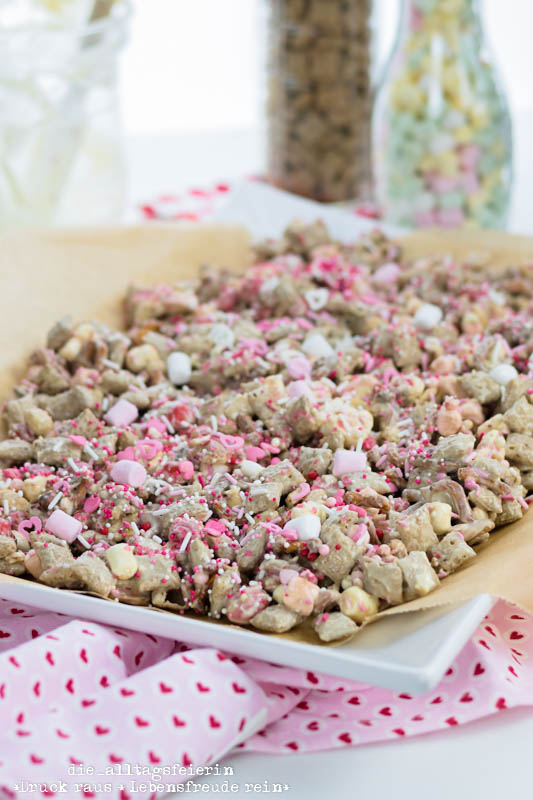 Christmas Crunch war gestern, für Valentinstags-Ideen ist der Valentins-Crunch die beste Wahl.