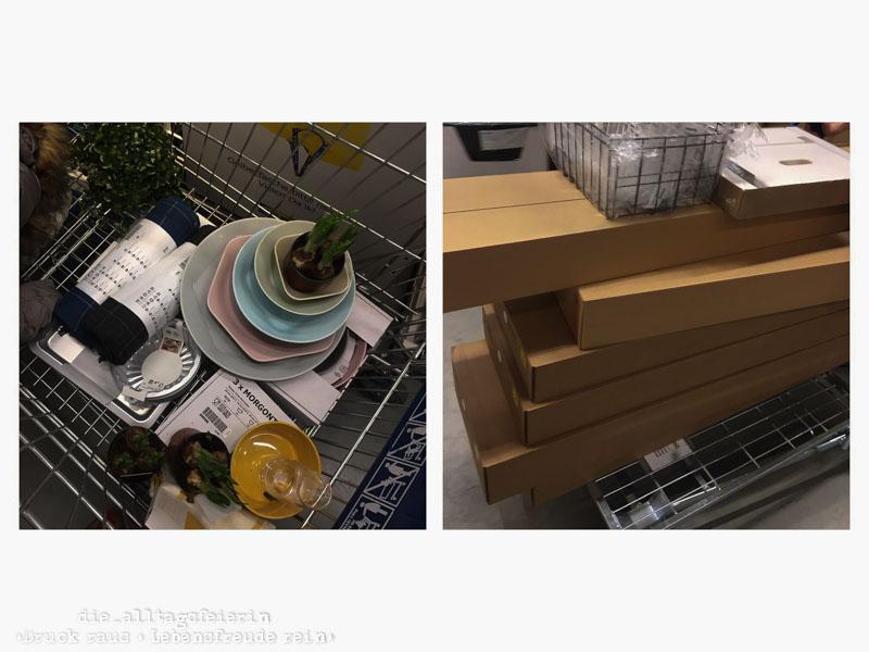 Ikea, Shoppinghaul, alltagsfeierliche Ausmisterei, Wochenglückrückblick, Wochenendfeierei, KW11-19, Speiseplan, Wochenplan KW 12-19,