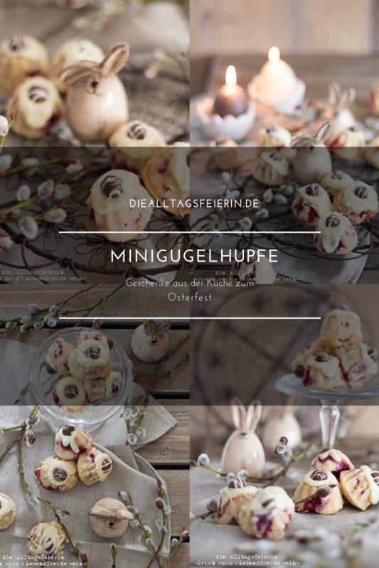 Mini-Gugelhupfe, Minigugelhupf, Gugelhupf, Vanille, Himbeer, Himbeermarmelade, weiße Schokolade, backen, Backen für Ostern, Oster-Gugelhupf, Osterei, diealltagsfeierin.de, Osterleckerei, Osterbrunch, ü40 Blog,