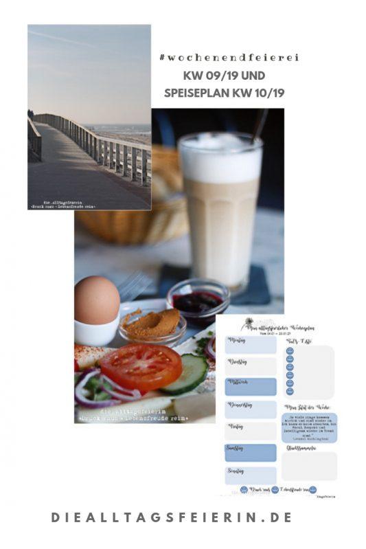 Wochenglueckrueckblick 09-19, Schweinfurt, Cafe Vordran, Speiseplan, Wochenplan, Sylt, Freebie, Wochenglückrückblick, Wochenendfeierei