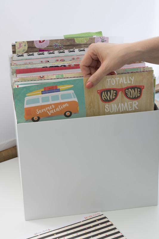 Little things, Scrapbooking, Aufbewahrung Kleinteile, Raskog, Clear Stamps, Ikea, Scrappapier, Lightbox, Letterboard, Washitapes, alltagsfeierliche Ausmisterei, diealltagsfeierin.de, ausmisten, aussortieren, aufbewahren, sortieren, organisieren,