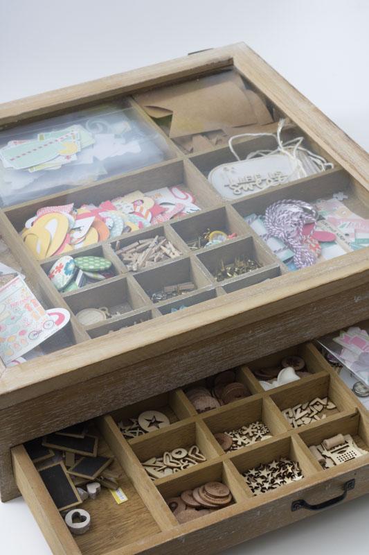 Lttle things, Scrapbooking, Aufbewahrung Kleinteile, Raskog, Clear Stamps, Ikea, Scrappapier, Lightbox, Letterboard, Washitapes, alltagsfeierliche Ausmisterei, diealltagsfeierin.de, ausmisten, aussortieren, aufbewahren, sortieren, organisieren,
