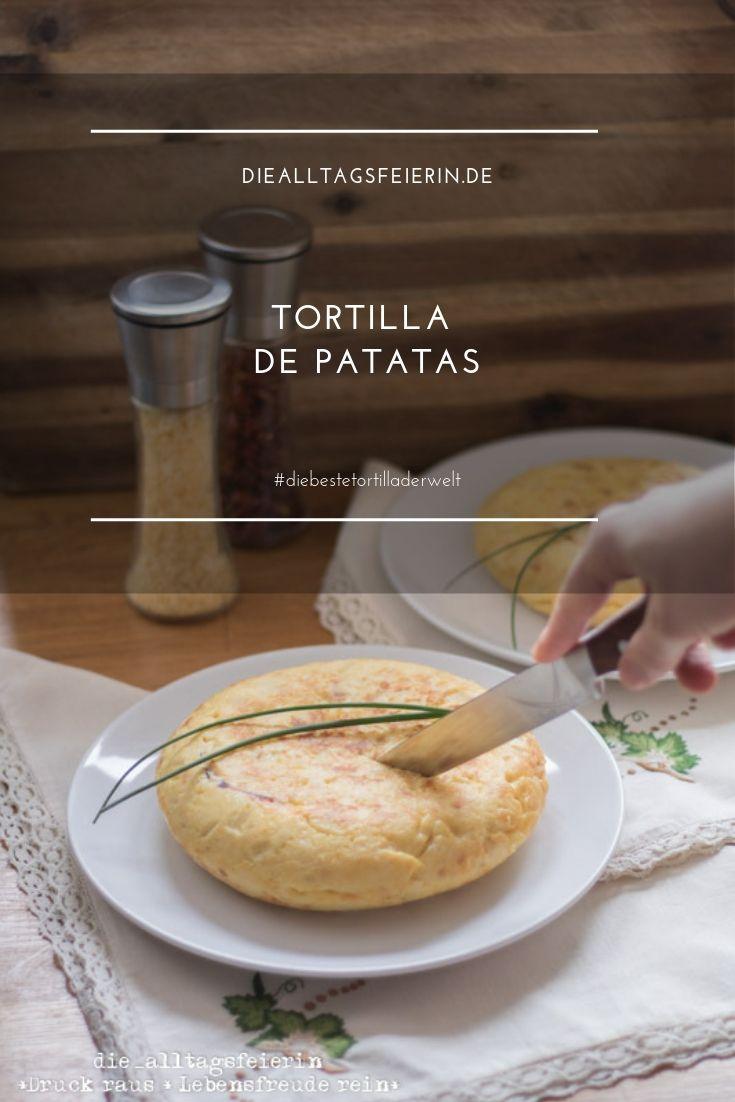 Tortilla, Tortilla de patatas, spanische Tortilla, Tortilla mit Schinken und Käse, diealltagsfeierin.de, alltagsfeierliche Begegnungen,