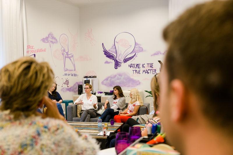 Kooperationen unter Bloggern mit Sabine von pastamaniac, Blogst Barcamp