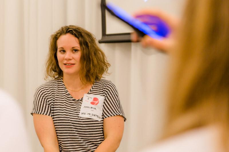 Marlene von wie die dietrich, Blogst Barcamp