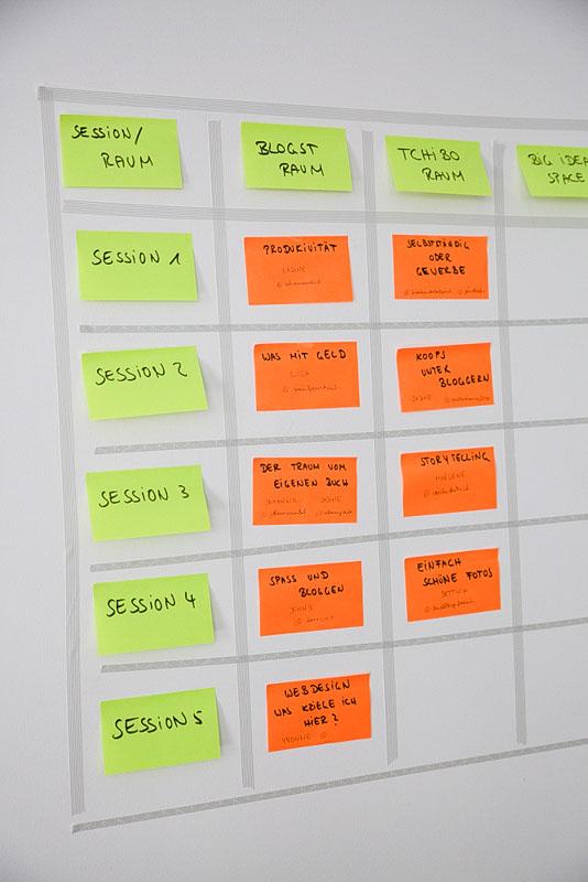 Stundenplan, Blogst Barcamp, 2019, Frankfurt