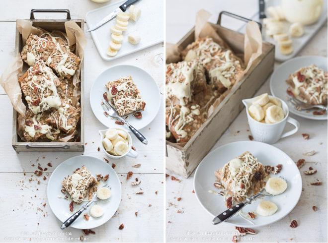 Bananen-Walnuss-Streuselkuchen, Streuselkuche, Blechkuchen, Nusskuchen, Bananenkuchen, mit Liebe gebacken, Streuselkuchen vom Blech, Kuchenrezept für überreife Bananen, Bananen, Walnüsse, Zimt, weiße Schokolade, diealltagsfeierin.de
