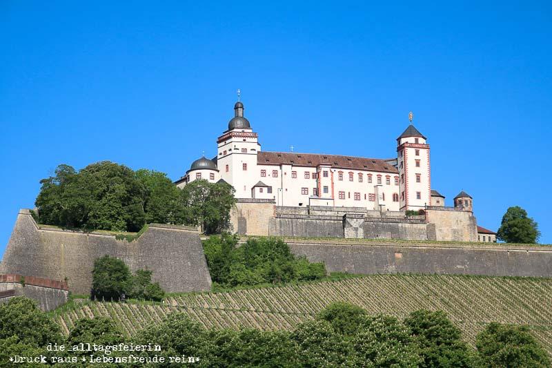 Wuerzburg Festung Marienberg