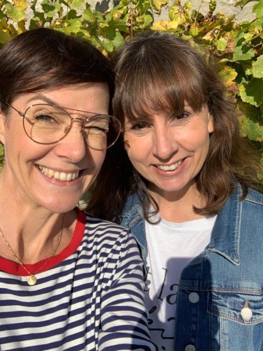 Wochenendfeierei 43-19, Anja schminktante.de, Bettina diealltagsfeierin.de, Vogelsburg Volkach