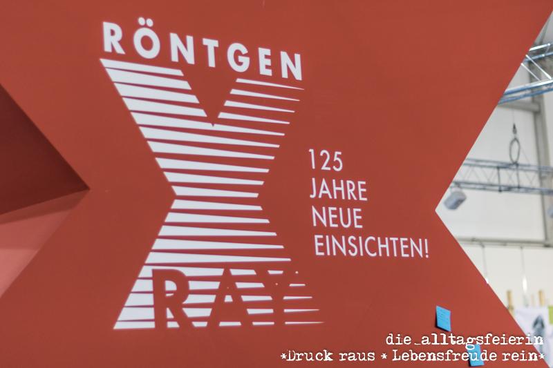 125 Jahre Roentgenstrahlung, Mainfrankenmesse Würzburg