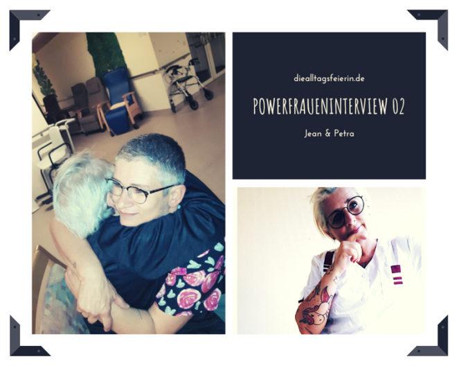 Powerfraueninterview 02 auf diealltagsfeierin.de Jean und Petra und die Sache mit dem Pflegenotstand