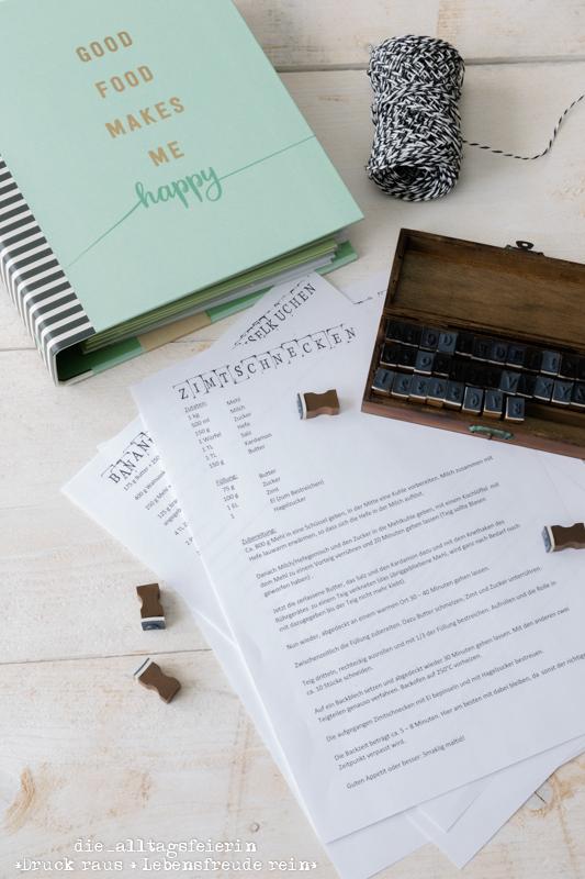 cook & STYLE, moses. Verlag, Rezeptordner, Rezepte, Geschenkideen zum Einzug, personalisiertes Rezept,
