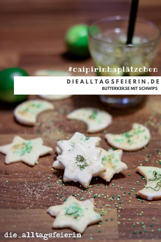 Caipirinha-Plätzchen, weihnachtliche Plätzchenrezepte und Dessert von diealltagsfeierin.de