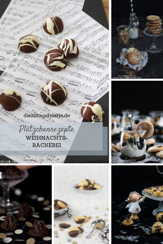 weihnachtliche Plätzchenrezepte und Dessert von diealltagsfeierin.de