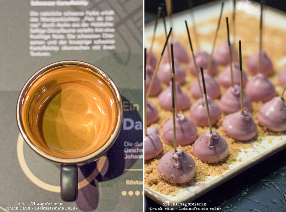 dallmayr Black Night, Plaza Culinaria 2019, Foodpairing, Schwarz, schwärzer, Espresso