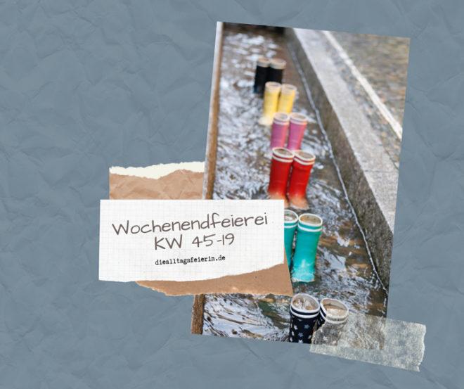 Wochenendfeierei KW 45-19, Freiburg, Bächle Freiburg