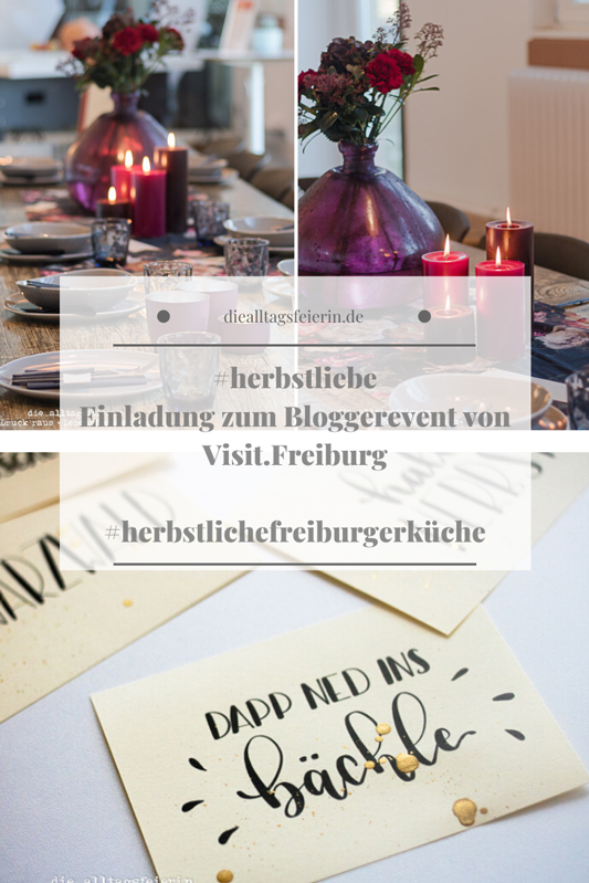 #herbstliebe, das Bloggerevent von Visit.Freiburg in der LOKation. Kochen, Lettern, Wein
