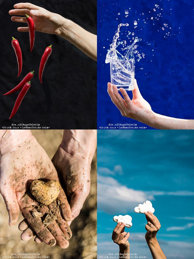 Bettina Höchsmann, diealltagsfeierin.de, Alltagsfeierliche Fotografie, Prüfung zur Fotodesignerin Thema: Feuer, Wasser Erde, Luft