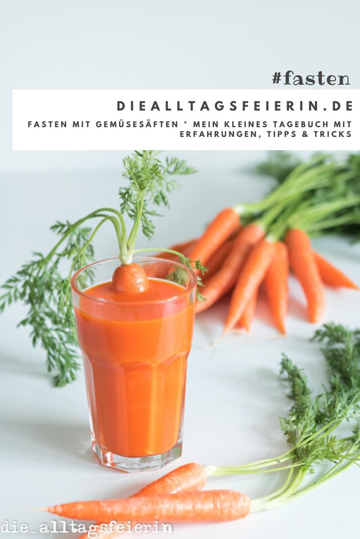 Fasten mit Gemüsesäften, Voelkel Fastenkasten, Tipps und Tricks rund ums Fasten, diealltagsfeierin.de