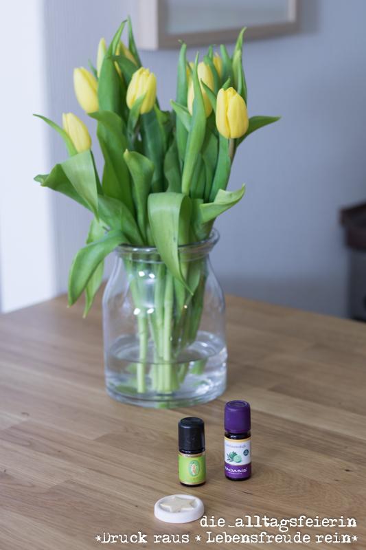 Tipps und Trick, Ätherische Öle für gute Laune und gegen Kopfschmerzen, diealltagsfeierin.de
