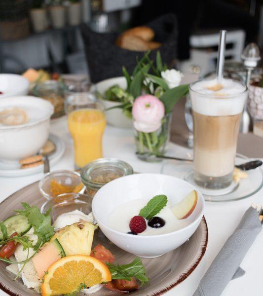 Frühstück im Café Pusteblume in Wittighausen