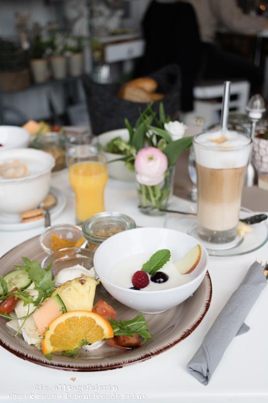 Frühstück im Café Pusteblume in Wittighausen, Wochenrückblick No 11-2020