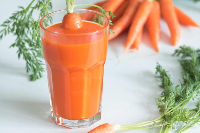 Fasten mit Gemüsesäften, Voelkel Fastenkasten, Tipps und Tricks rund ums Fasten, diealltagsfeierin.de, Möhrensaft