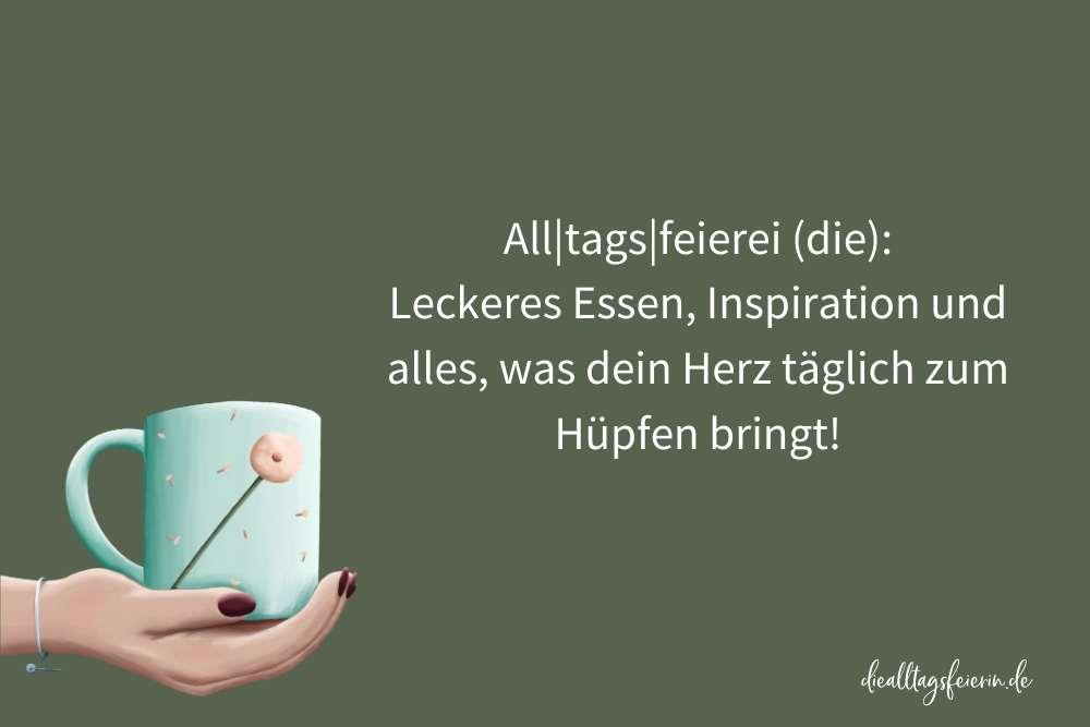 Steffi Pusteblume, diealltagsfeierin.de, Alltags-Rock'n'Roll pusteblumenleicht, Kaffee, Pusteblume, Alltag feiern,