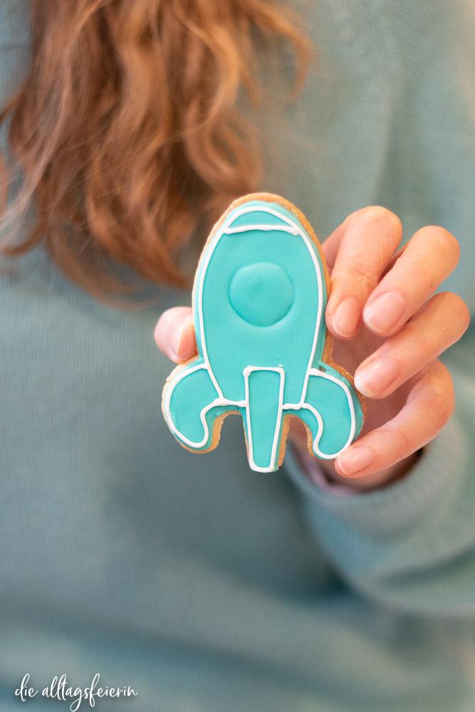 Blog-Boost Esslingen, Christin Kunze mit Keks von kaethes-Kekse