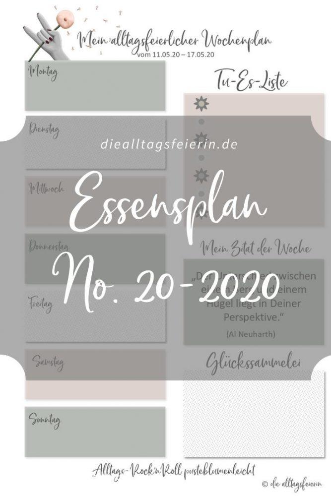 Essensplan No 20-2020