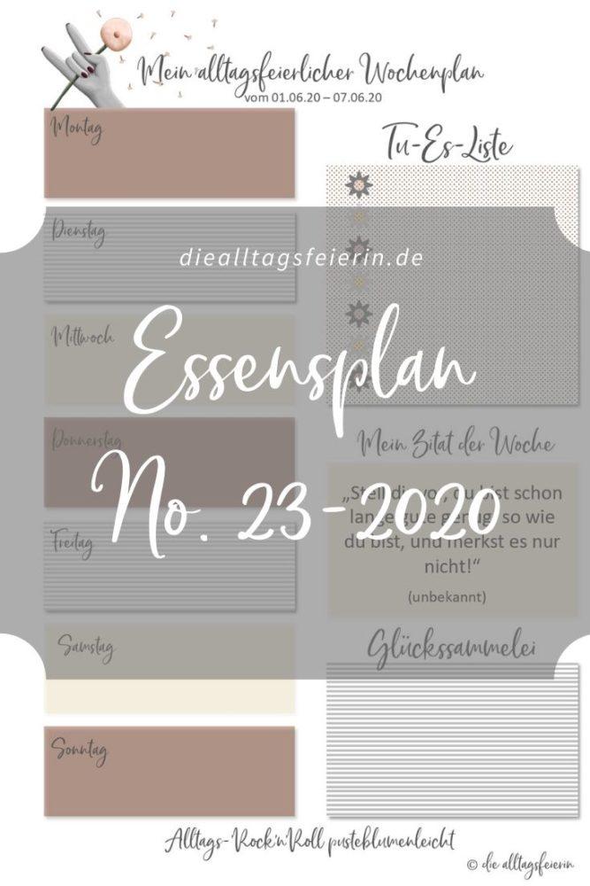 Essensplan No 23-2020