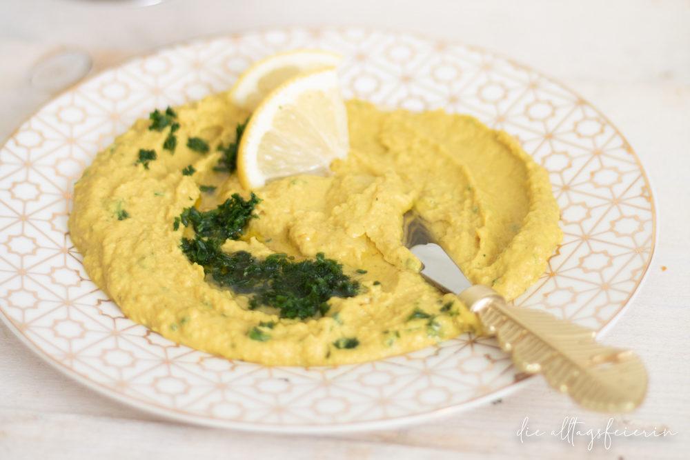 Hummus-Rezept ohne Zucker-Zusatz, frischer Hummus
