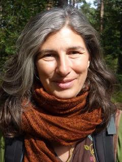Wildnispädagogin und Autorin Kathrin Blum